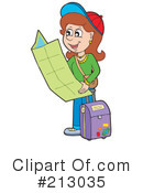 Woman Reading A Map Clipart #1 - 1 Royalty-Free (RF ...