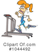 Treadmill Clipart #1044492 by toonaday