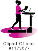 Treadmill Clipart #1179677 by Lal Perera