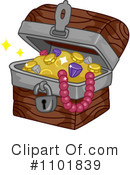 Treasure Chest Clipart #1101839