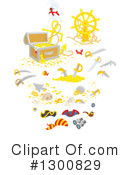 Treasure Chest Clipart #1300829