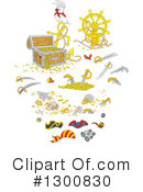Treasure Chest Clipart #1300830
