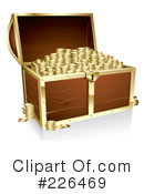 Treasure Chest Clipart #226469