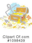 Royalty-Free (RF) treasure Clipart Illustration #1098439