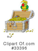 Royalty-Free (RF) treasure Clipart Illustration #33396