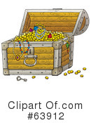 Royalty-Free (RF) treasure Clipart Illustration #63912