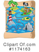 Treasure Map Clipart #1174163