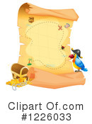 Royalty-Free (RF) Treasure Map Clipart Illustration #1226033