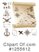 Treasure Map Clipart #1255612
