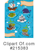 Treasure Map Clipart #215383