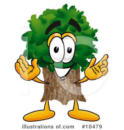 Royalty-Free (RF) Tree Clipart Illustration by Toons4Biz - Stock Sample #10479