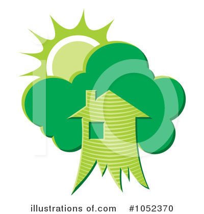 Houses Clipart #1052370 by Any Vector