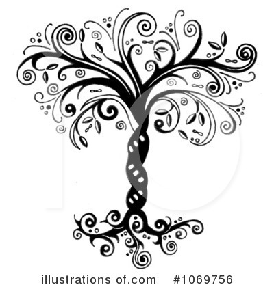Royalty-Free (RF) Tree Clipart Illustration by LoopyLand - Stock Sample #1069756