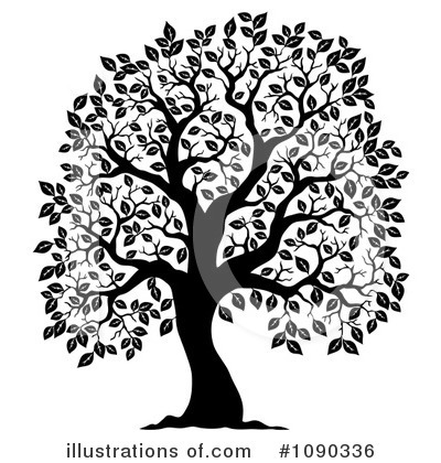 Royalty-Free (RF) Tree Clipart Illustration by visekart - Stock Sample #1090336