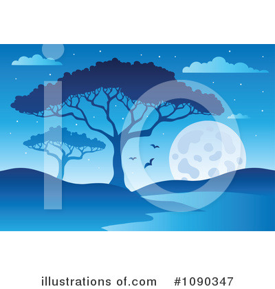 Moon Clipart #1090347 by visekart