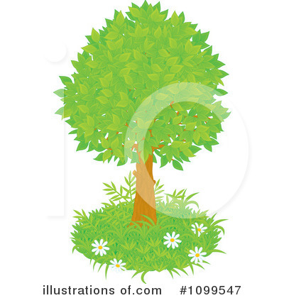 Tree Clipart #1099547 by Alex Bannykh
