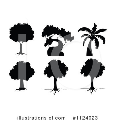Palm Tree Clipart #1124023 by Graphics RF