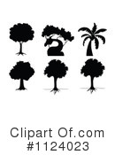 Royalty-Free (RF) Tree Clipart Illustration #1124023