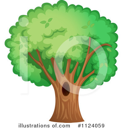 Tree Clipart #1124059 by Graphics RF