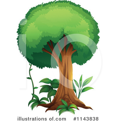 Tree Clipart #1143838 by Graphics RF