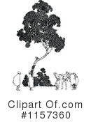 Royalty-Free (RF) Tree Clipart Illustration #1157360