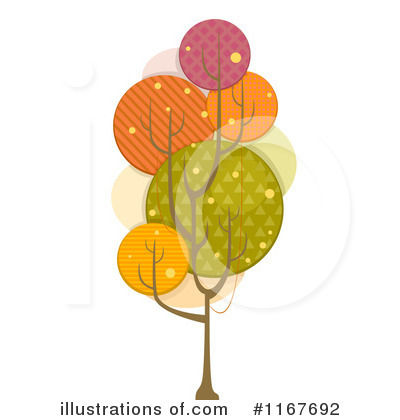 Trees Clipart #1167692 by BNP Design Studio