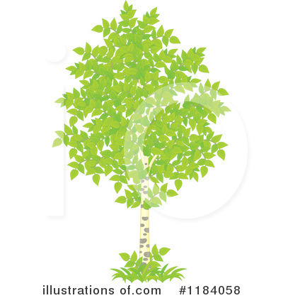 Tree Clipart #1184058 by Alex Bannykh