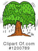 Tree Clipart #1200789 by LaffToon