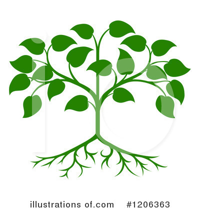 Royalty-Free (RF) Tree Clipart Illustration by AtStockIllustration - Stock Sample #1206363