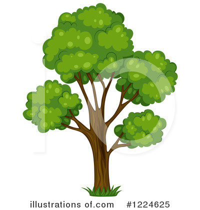 Tree Clipart #1224625 by Graphics RF