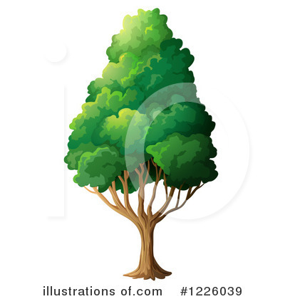 Tree Clipart #1226039 by Graphics RF