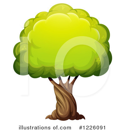 Tree Clipart #1226091 by Graphics RF