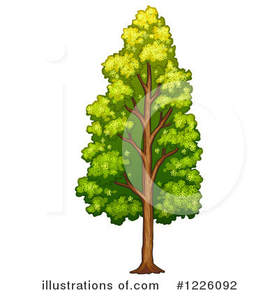 Tree Clipart #1226092 by Graphics RF