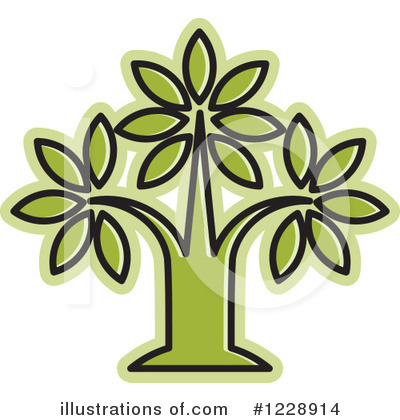 Plant Clipart #1228914 by Lal Perera