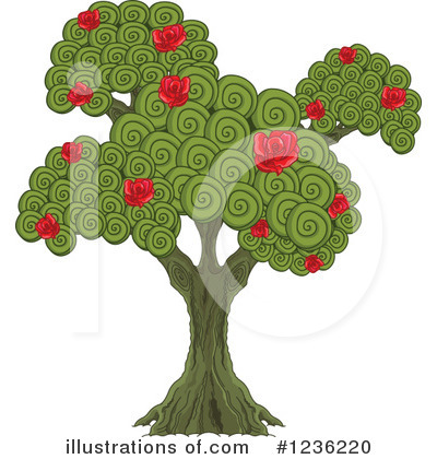 Tree Clipart #1236220 by Pushkin