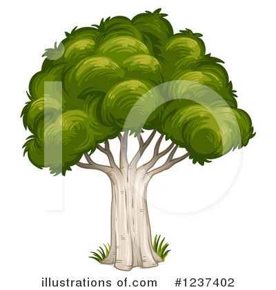 Tree Clipart #1237402 by Graphics RF