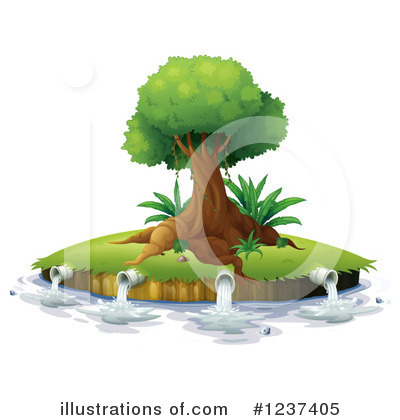 Tree Clipart #1237405 by Graphics RF