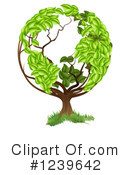 Royalty-Free (RF) Tree Clipart Illustration #1239642