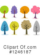 Tree Clipart #1246187 by BNP Design Studio