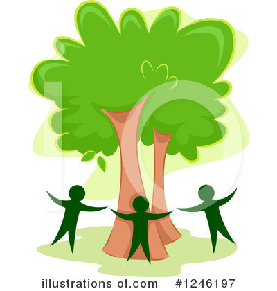 Trees Clipart #1246197 by BNP Design Studio