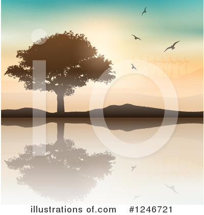 Pond Clipart #1246721 by KJ Pargeter