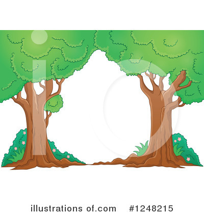 Tree Clipart #1248215 by visekart