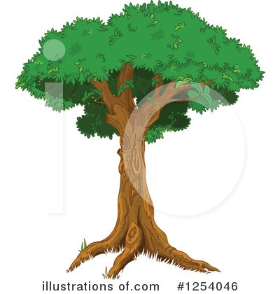 Tree Clipart #1254046 by Pushkin