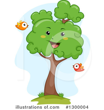 Tree Clipart #1300004 by BNP Design Studio