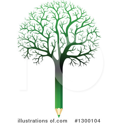 Trees Clipart #1300104 by Vector Tradition SM