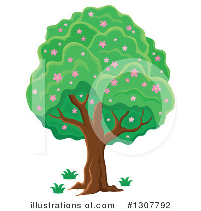 Tree Clipart #1307792 by visekart