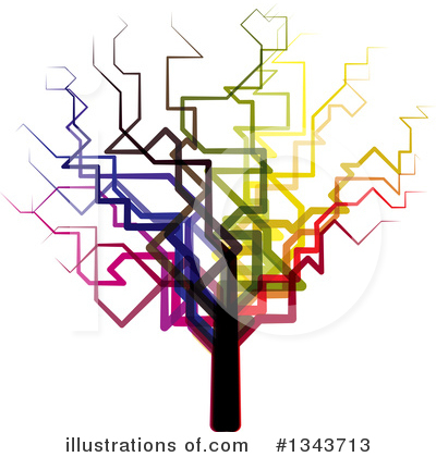 Royalty-Free (RF) Tree Clipart Illustration by ColorMagic - Stock Sample #1343713