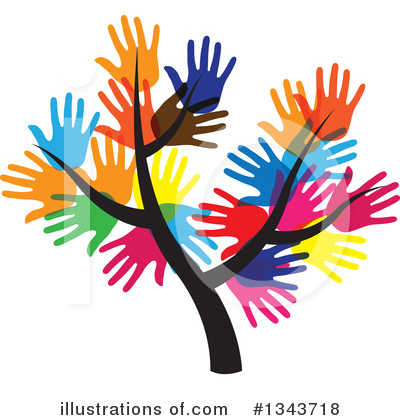 Tree Clipart #1343718 by ColorMagic