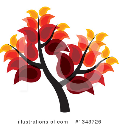Tree Clipart #1343726 by ColorMagic