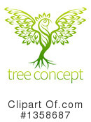 Royalty-Free (RF) Tree Clipart Illustration #1358687